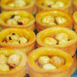 Royalty-Free Stock Photo: Tartlets with hazelnuts