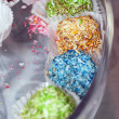 Colorful homemade candy — Stock Photo