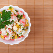 Crab salad — Stock Photo