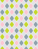 Colorful calm Rhombus. Seamless pattern — Stockvektor
