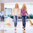 Walking in the store — Stock Photo