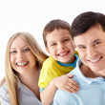Smiling family — Stock Photo #11275293