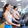 On the treadmill — Stock Photo #11275409