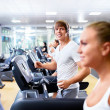 On treadmills — Stock Photo #11586343