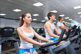 Fitness club — Foto Stock