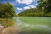 Colorful summer landscape in the Crimea — Stock Photo