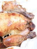 在 lavash 中的鸡肉烧烤 — 图库照片