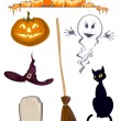 Halloween icon - Stock Vector