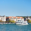 Stock Photo: Uto-Quai with its historical building seen from Zurich see port