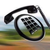 телефонный — Стоковое фото