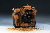 汚いカメラ. — ストック写真