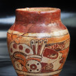 Pre Columbian  Vase. - Stock Photo