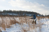 The hunter — Stock Photo