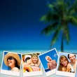 Pictures of holiday having rest — Stock Photo