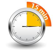 Vector timer — Stock Vector
