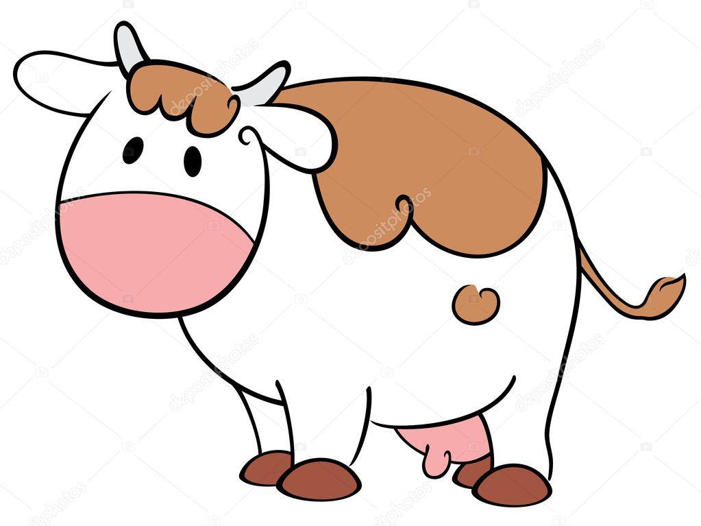 可爱牛 — 图库矢量图片 #11109436
