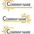 Stock Vector: Corporate symbol templates