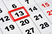 Friday the 13th — Stock Photo