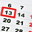 Stock Photo: Friday 13th