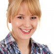 Cheerful young woman — Stock Photo