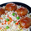 Royalty-Free Stock Photo: Meatballs with rice