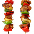 Stock Photo: Fried skewers
