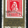 Stock Photo: Stamp printed by New Zealand
