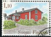 Farm Houses — Stockfoto