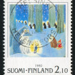 Moomin characters - Foto de Stock  