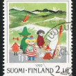 Moomin characters - Stok fotoraf