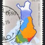 Stamp Map — Stock Photo #11038635