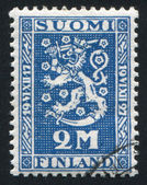 Coat of arms of Finland — Stock Photo