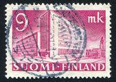 Helsinki Post Office — Stock Photo