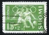 Fotbollsspelare — Stockfoto