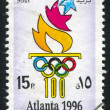 Stock Photo: Olympic emblem