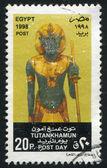 статуя тутанхамона — Стоковое фото