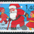 Santa Claus and children — Stock fotografie