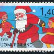 Santa Claus and children — Stock Photo