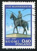 Mannerheim Monument — Stock Photo