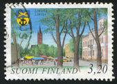 Town of Loviisa — Stock Photo