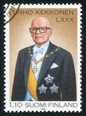 President Urho Kekkonen — ストック写真