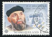 Portrait of Writer Frans Eemil Sillanpaa — Stock Photo