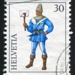Постер, плакат: Medieval Postal Couriers