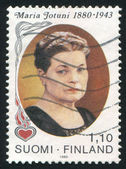 Portrait of Writer Maria Jotuni — Stock Photo