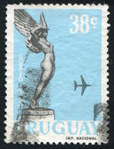 Flyg från monument över fallna flygare — Stockfoto
