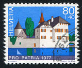 Castle Hallwil — Stock Photo