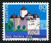 Zamek chillon — Zdjęcie stockowe