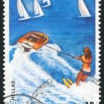Water-skiing — Stock Photo