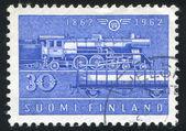 Locomotiva a vapor — Foto Stock