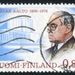 architect alvar aalto — Stock Photo